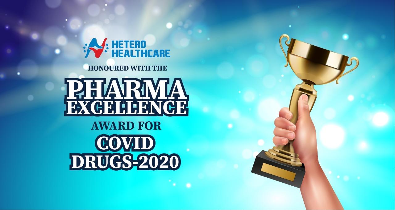 COVID Drug Launch Excellence Award to Hetero Healthcare