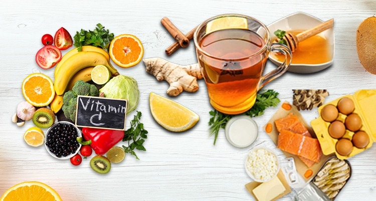 Role of Vitamins, Supplements and Herbal Tea in Boosting Immunity