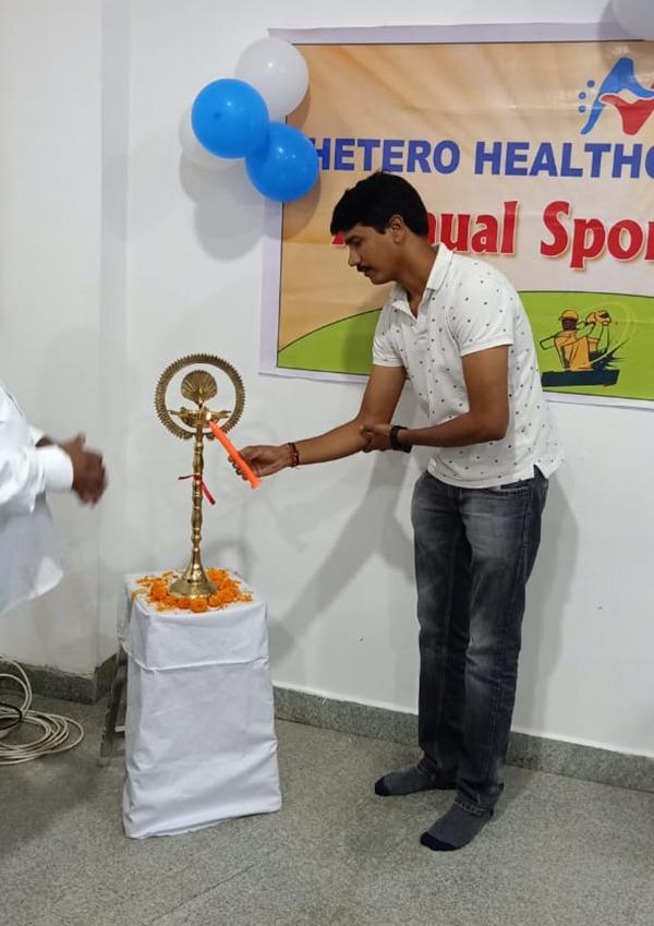 Sports Event Inauguration at Guwahati Plant