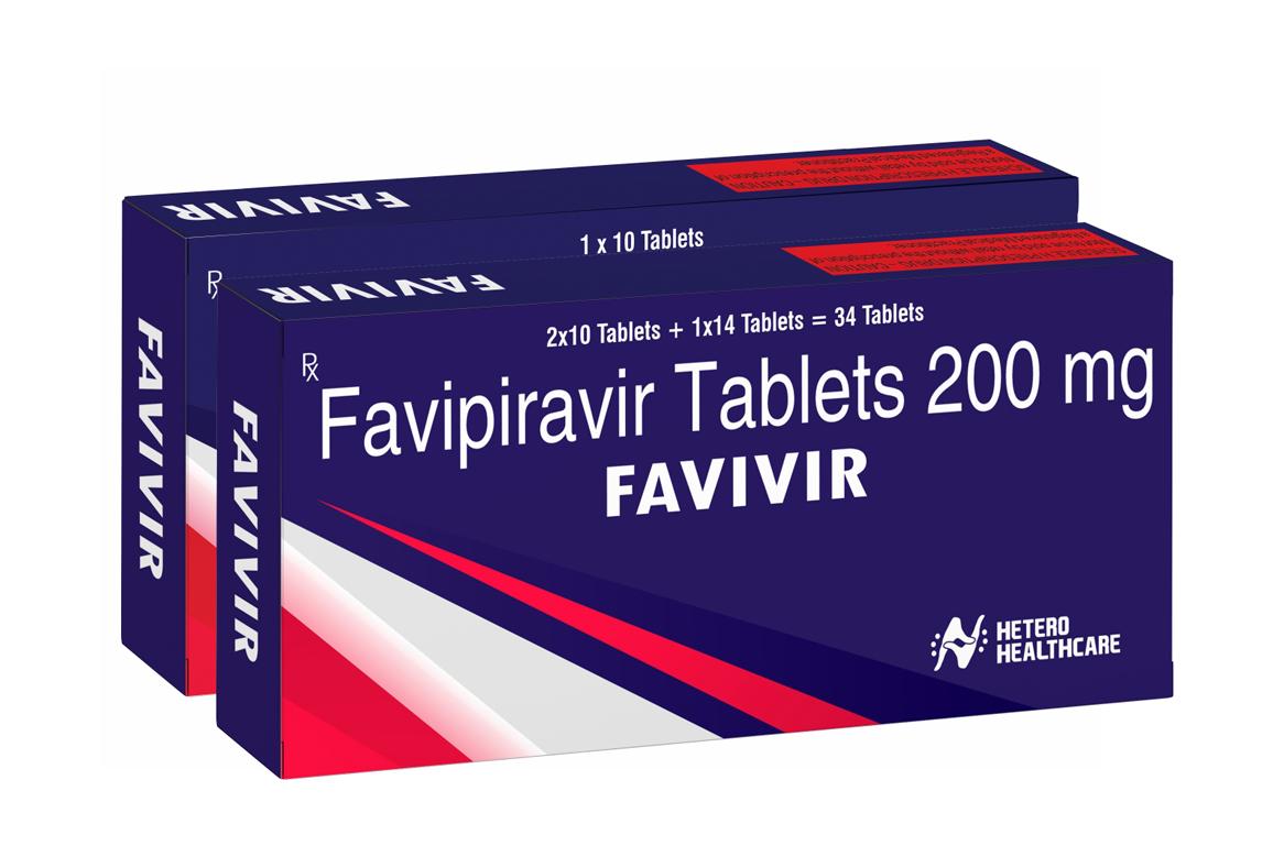 Hetero Launches Generic COVID-19 Treatment Drug Favipiravir in India under brand name FAVIVIR