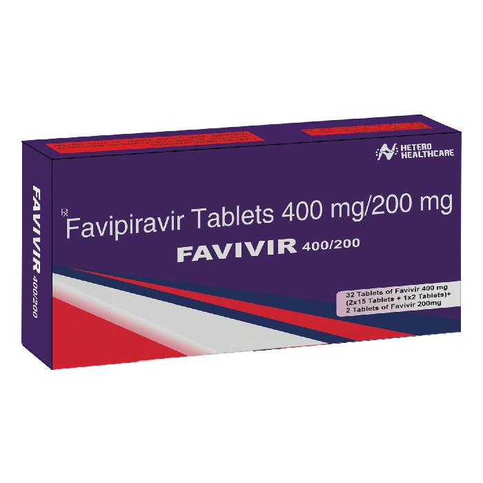 FAVIVIR 400MG TABLETS