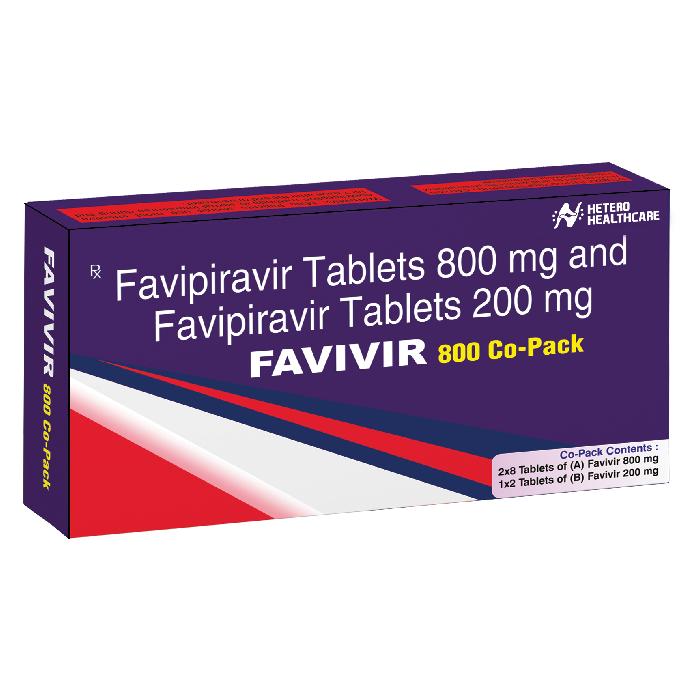 FAVIVIR 800MG TABLETS