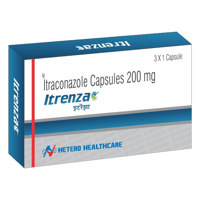 ITRENZA CAPSULES 200 MG