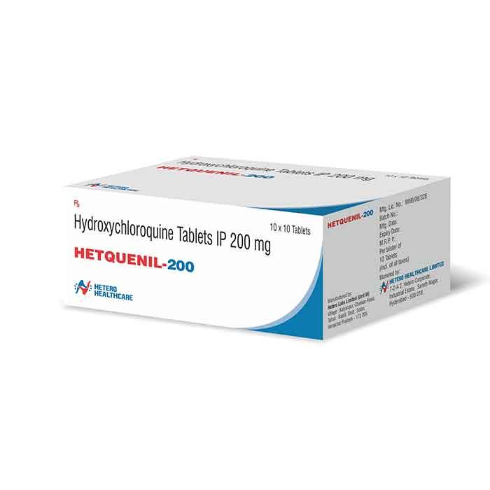 Hetquenil 200Mg Tablet