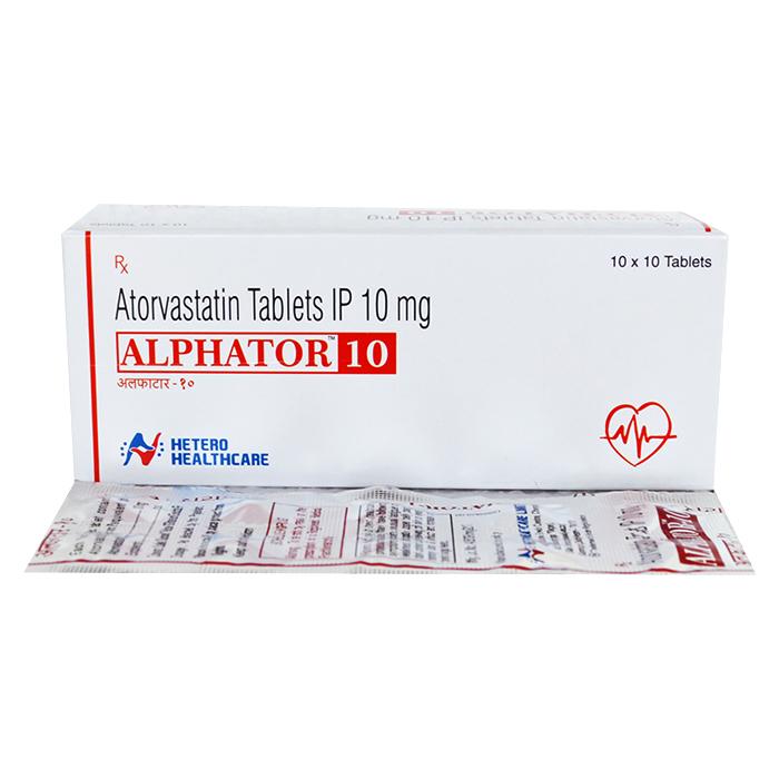 Alphator 10Mg Tablet