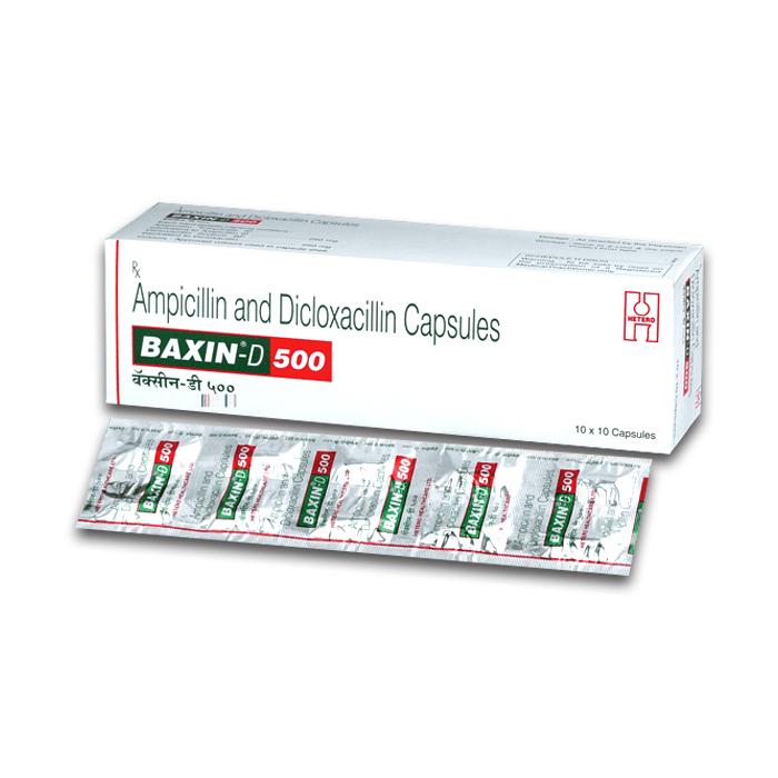 Baxin D 500Mg Capsule