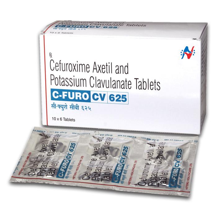 C FURO CV 625 TABLET