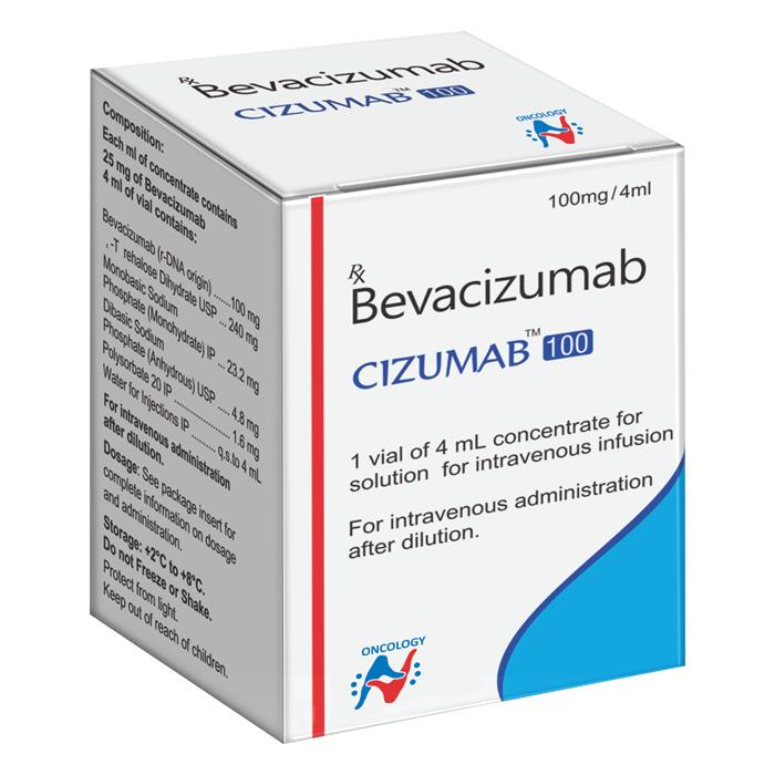 Cizumab 100Mg 4Ml Injection
