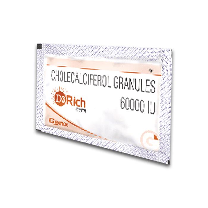 D3 Rich 60000 Iu Sachet