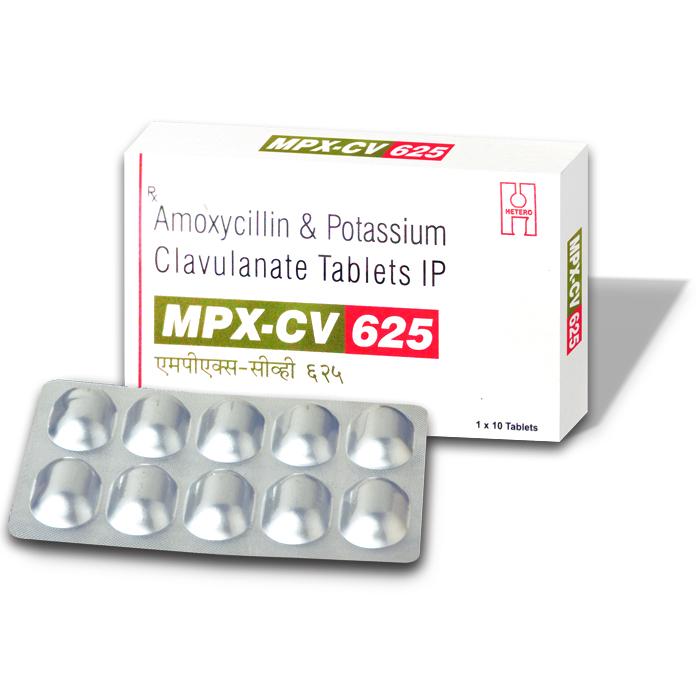 MPX CV 625 TABLET