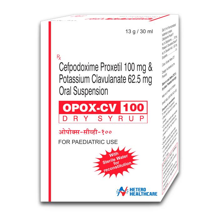 OPOX CV 100 DRY SYRUP
