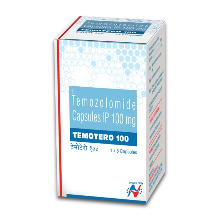 TEMOTERO 100MG CAPSULE