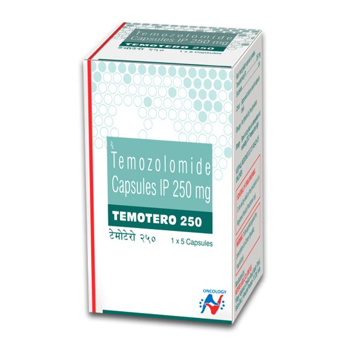 TEMOTERO 250MG CAPSULE